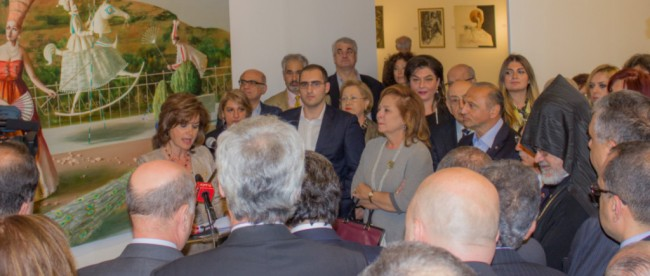 Arda Yanikian, the Central Committee of the Armenian Genocide Centennial in Lebanon