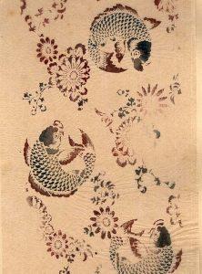 Japanese stencil print (1890)
