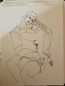 Lovers' Embrace by Yuroz sketch